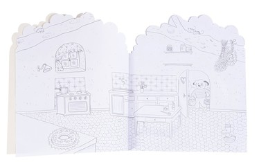 Ma Maison Colouring and Sticker Book