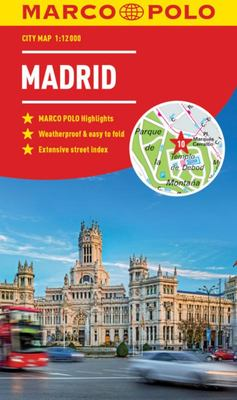 Madrid Marco Polo City Map