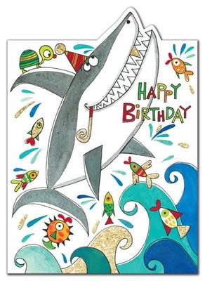 Card - Shark birthday CHERRY18