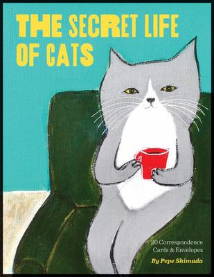 Secret Life of Cats Correspondence Cards
