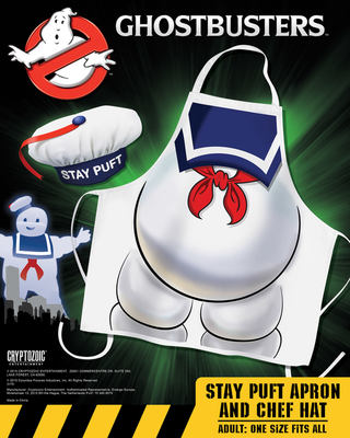 Ghostbusters - Stay Puft Apron & Hat Set