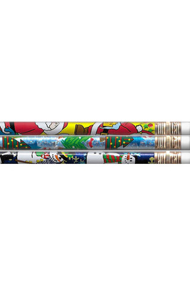 MP060a Holiday Charm Pencils with Eraser - ATA