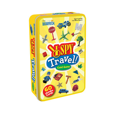 I Spy Travel Card Game Tin