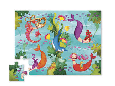 Mermaids Mini Shaped 24pc Puzzle