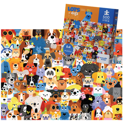 Lots of Dogs 500pc Puzzle