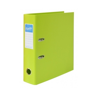 Bantex Lever Arch File 70mm Lime - GNS