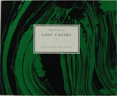 Miscellany 13 Lost Causes