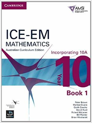 Ice-em Mathematics Australian Curriculum Edition Year 10 Incorporating 10a SECONDHAND