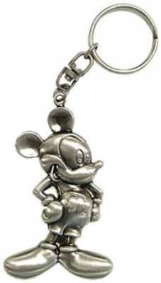 Keyring Pewter Mickey Mouse