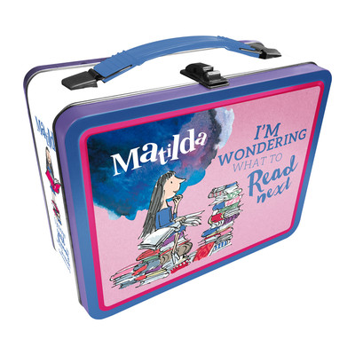 Matilda Tin Lunch Box Roald Dahl