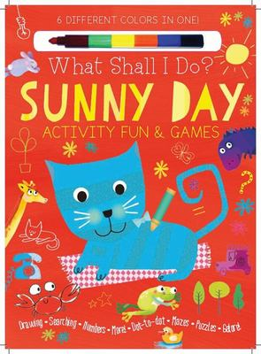 Sunny Day Activity Fun and Games - Drawing, Searching, Numbers, More! Dot to Dot, Mazes, Puzzles Galore!