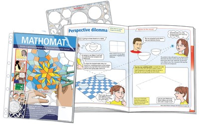 Mathomat Version 2 Geometry Template with 120 pages Illustrated Instructions - 65491 - GNS
