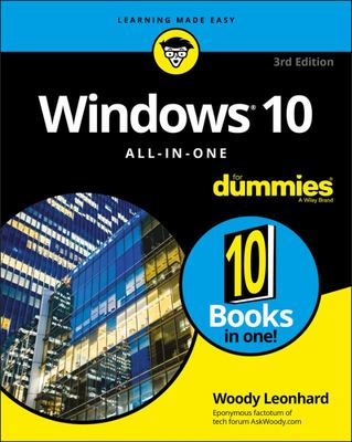 Windows 10 All-in-One: 3rd Edition.