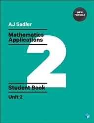 Mathematics Applications Student Book with Code Unit 2 - 1st Ed Revised New Format - Secondhand