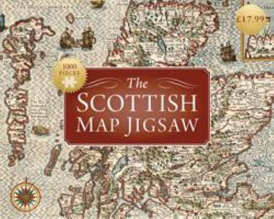 Scottish Map Jigsaw Puzzle 1000 Piece