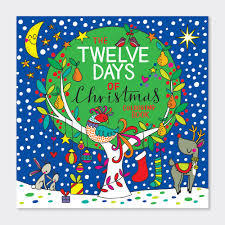 The 12 Days of Christmas colouring book
