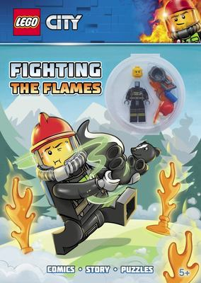 LEGO City fighting the flames