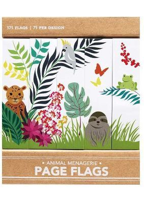Page Flags - Animal Menagerie