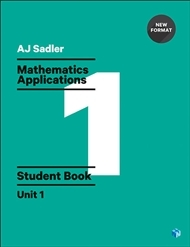 Mathematics Applications Student Book with Code Unit 1 - 1st Ed Revised New Format - Secondhand