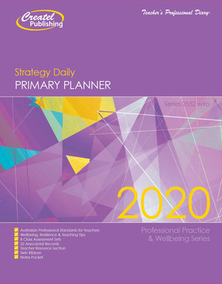 Primary Strategy Planner 2020 (Daily) - Wiro Bound - 2552