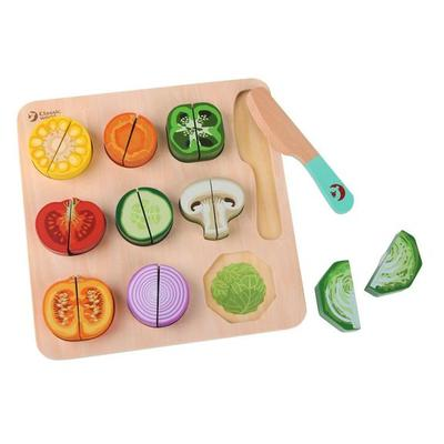 Wooden Cutting Vegetable Puzzle