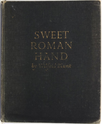 Sweet Roman Hand: Five hundred years of italic cursive script