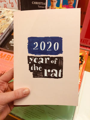 Year of the Rat - 2020 Datebook