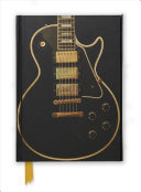Black Electric Guitar (Foiled Journal)