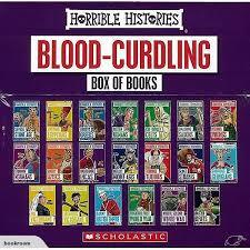 Blood-Curdling Box of Books (Horrible Histories)