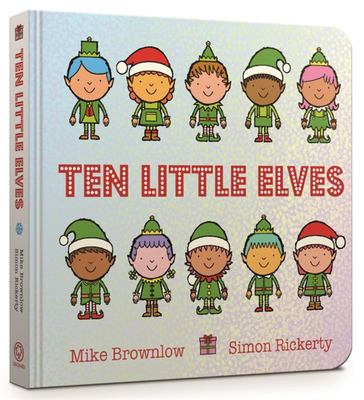 Ten Little Elves (Board Book)