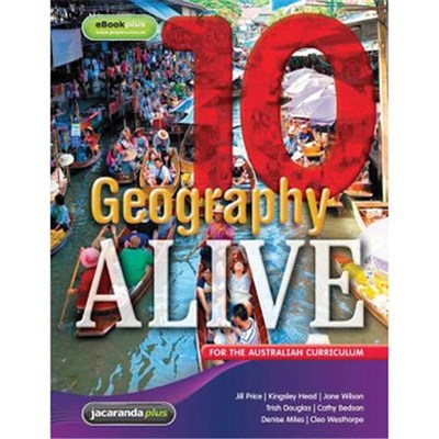 Geography Alive 10- SECONDHAND