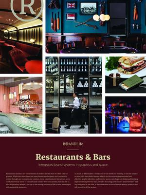 BRANDLife Restaurants and Bars - Integrated Brand Systems in Graphics and Space