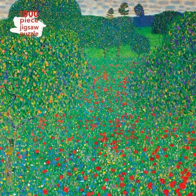 Poppy Field /Gustav Klimt: 1000-piece Jigsaw Puzzle Flame Tree Studio