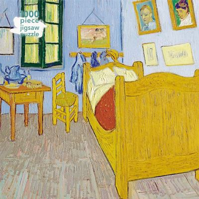 Bedroom at Arles / Vincent Van Gogh: 1000-piece Jigsaw Puzzle Flame Tree Studio