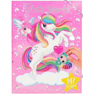 Princess or Unicorn Colouring Book