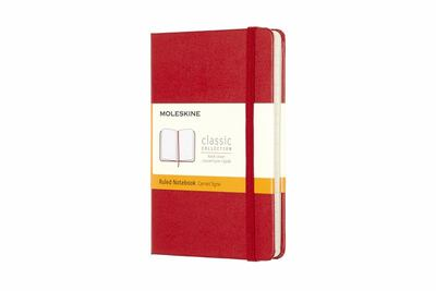 Classic Ruled Red Pocket Notebook - Moleskine