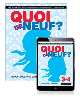 Quoi de Neuf ? 3+4 Student Book with EBook (2nd Edition)