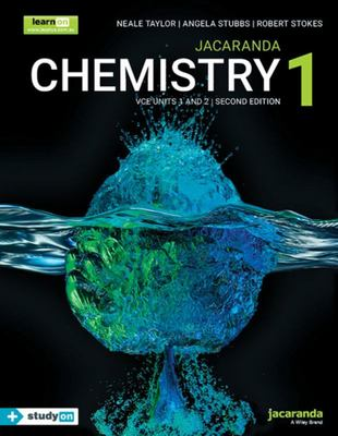 Jacaranda Chemistry 1 VCE Units 1 and 2 Second Edition LearnON and Print