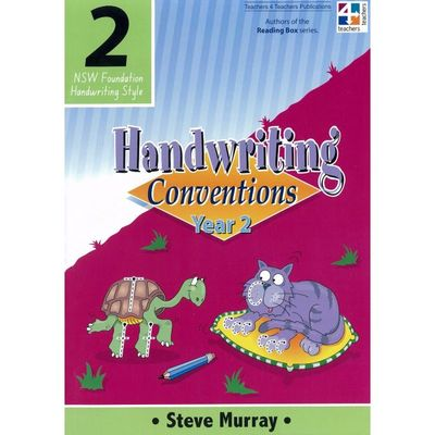 Handwriting Conventions Year 2 NSW Foundation - T4T