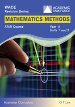 WACE Revision Series Mathematics Methods Year 11 Units 1 & 2 ATAR Course AC-SECONDHAND