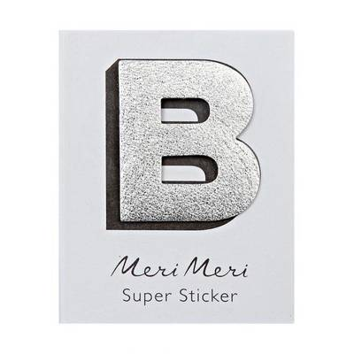B Leather-like Super Sticker