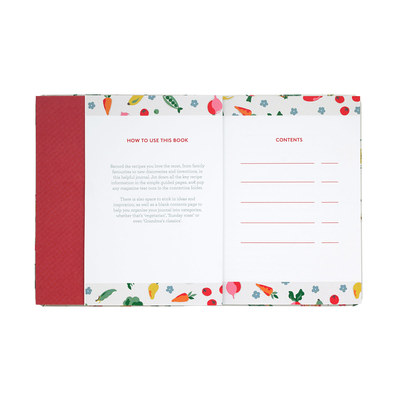Garden Veg Recipe Book - Cath Kidston: My Recipe Collection