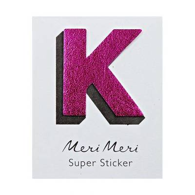 K Leather-like Super Stickers