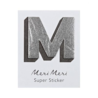 M Leather-like Super Stickers