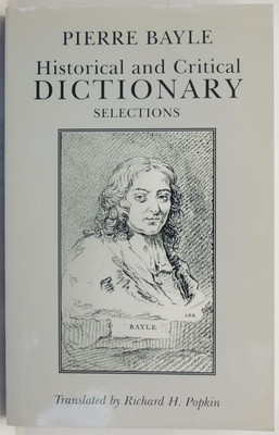Historical and Critical Dictionary - Selections
