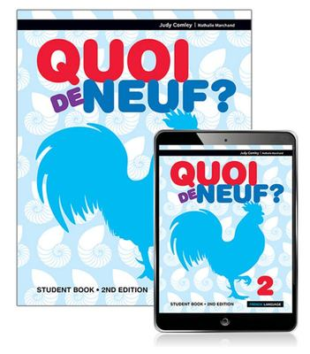 Quoi de Neuf ? 2 Student Book with EBook (2nd Edition)