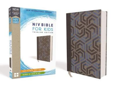 NIV Thinline Bible For Kids Red Letter Edition [Blue]