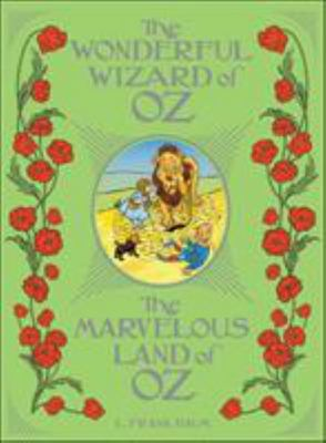 The Wonderful Wizard of Oz / the Marvelous Land of Oz - (Barnes and Noble Collectible Editions)