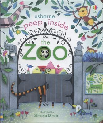Peep Inside the Zoo (Peep Inside Lift-the-Flap Board Book)