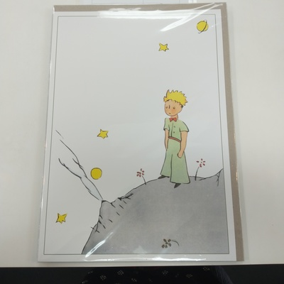 The LIttle Prince on Planet - large print